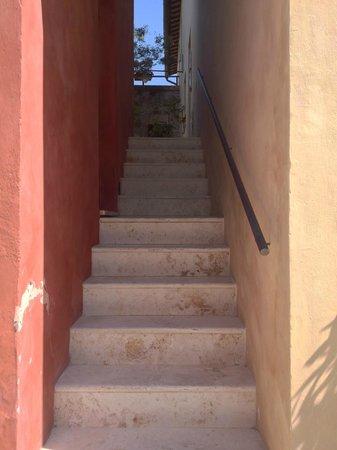 Borgo Grondaie: Stairs