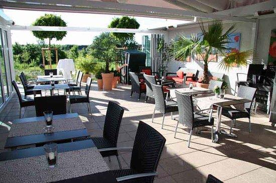 Hotel & Restaurant Fricke: Terrasse