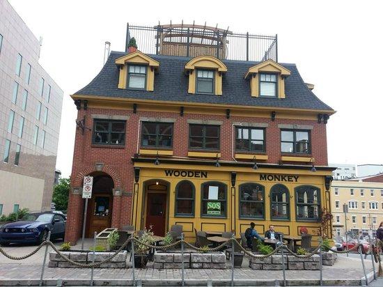 The Wooden Monkey: The restaurant in Halifax