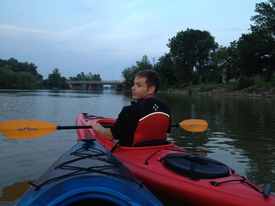 Grand River Kayak: On the grand