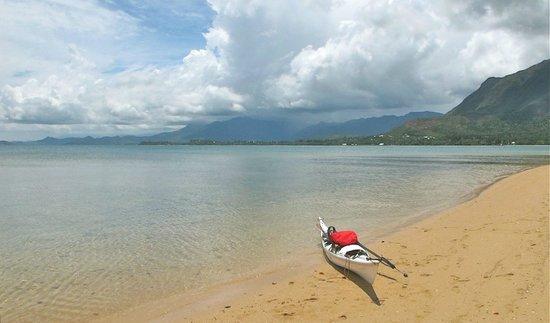 Le Mont-Dore, Nova Caledônia: Plage de l'îlot Bailly - H2o Odyssée