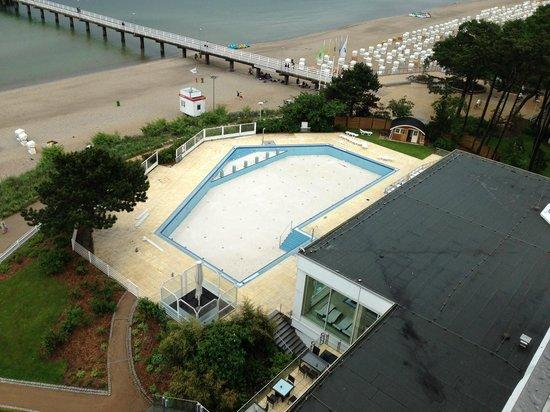 Maritim Seehotel Timmendorfer Strand: nicht nutzbarer Pool
