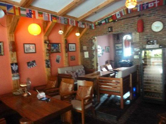 Lakeside Inn: The foyer