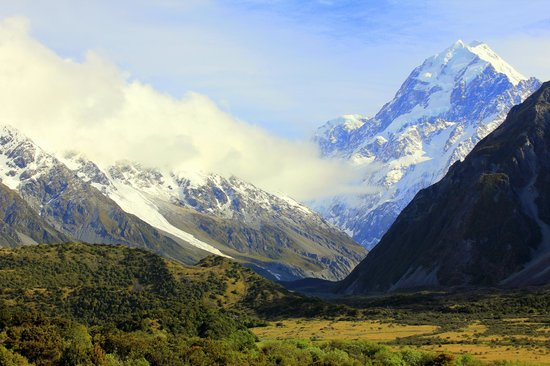 Mackenzie District, Nouvelle-Zélande : Mt. Cook