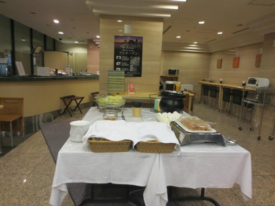 Hotel Villa Fontaine Nihombashi Hakozaki: Breakfast