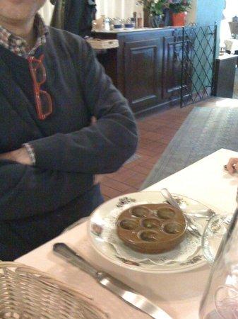 Chez Hansi : Assaggio di lumache all'alsaziana