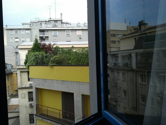Hotel Berna: view from the room