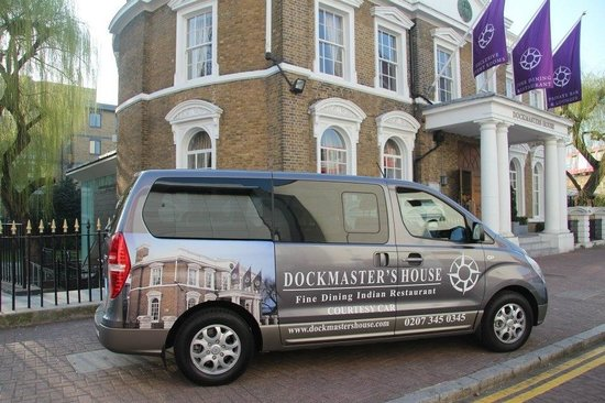 Dockmaster's House: Our Courtesy bus