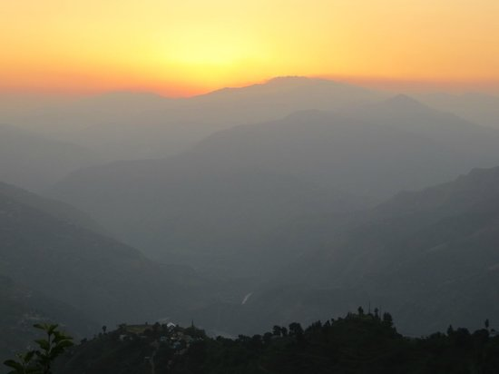 Banjara Camps - Thanedar : Sunset view from Banjara