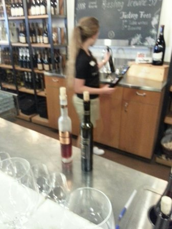 My sneaky attempt to get a pict of the rude bartender. you can see ...