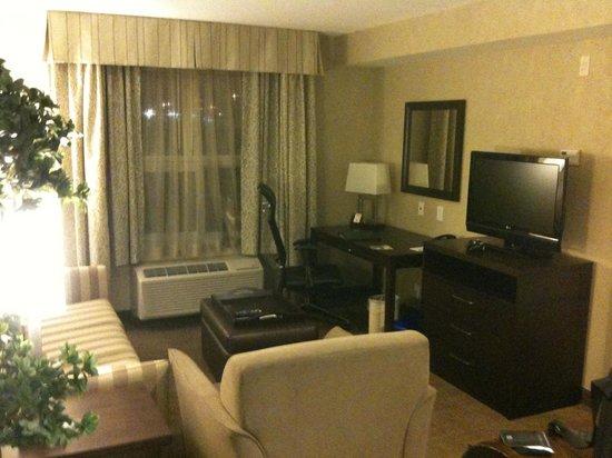 Homewood Suites by Hilton Toronto-Markham: livingroom