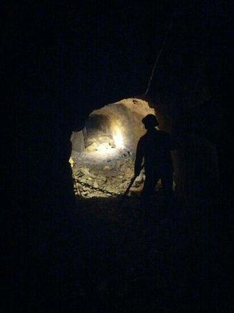 Miniera di Pezzazze: Interno miniera