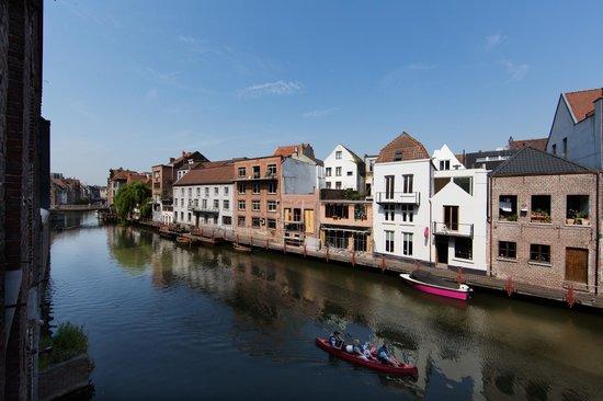 Ghent River Hotel: Vue