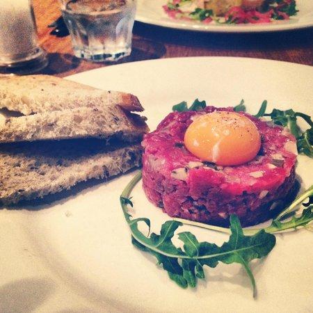 Joseph Benjamin: Steak Tartare starter