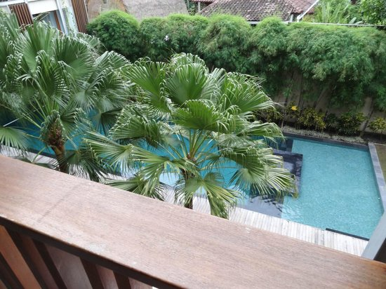 The Haven Bali: Veiw from Balcony