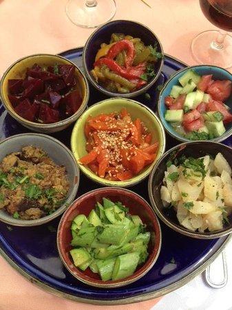 Palais Donab: Salade Marocaine