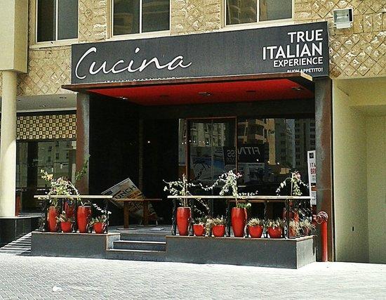view of cucina entrance. - picture of cucina italiana, manama