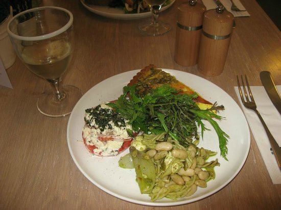 Daylesford Organic Cafe: Sample lunch