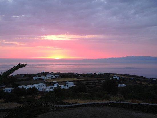 Arhontou: soleil levant