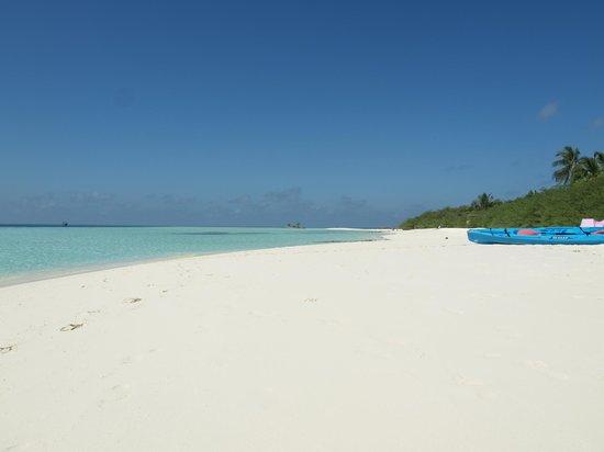 Asdu Sun Island: la spiaggia