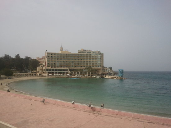 Helnan Palestine Hotel : the other side