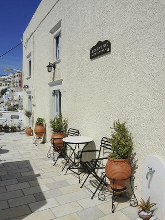 Archontiko Santorini : terrasse