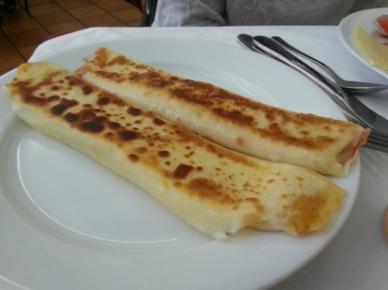 Hotel Rinno : Traditional Lithuanian pancakes