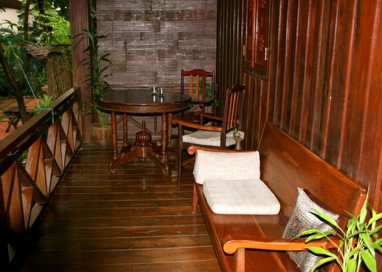 Auberge Sala Inpeng (Mekong Riverside Inn): Sit Out