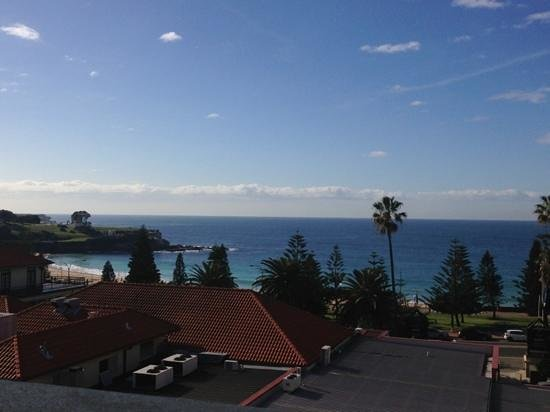 Coogee Bay Hotel: view from the ocean view boutique room