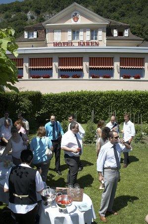 Hotel Baeren : Unser Garten für Ihre Feste