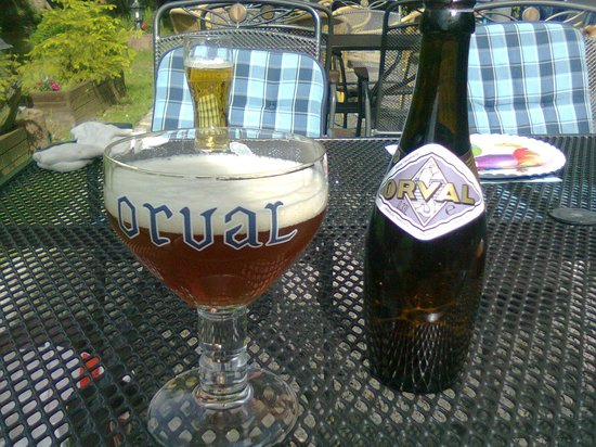 Domaine du Moulin d'Asselborn : An Orval abbey beer along the river