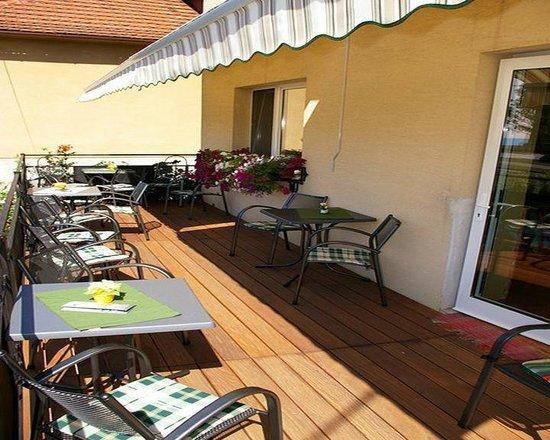 Penzión Bojnice : Terrace