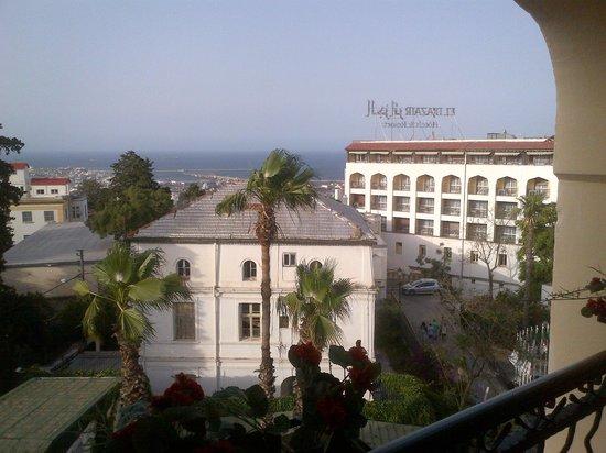 Hotel El Djazair: view from the room