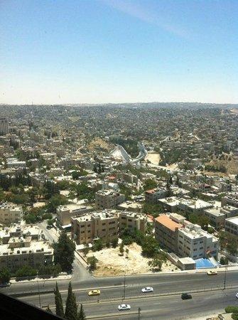 Le Royal Hotel Amman: fifteen floor site