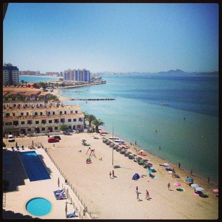 Apartamentos Pierre & Vacances Estepona: Vista desde la terraza. Increible