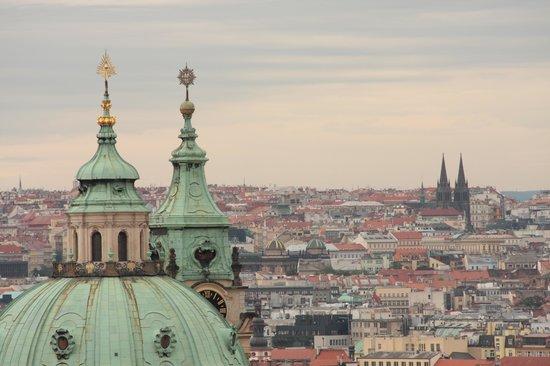 Hotel Waldstein: City view