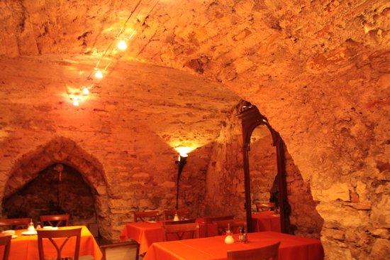 Hotel Waldstein: Eating area