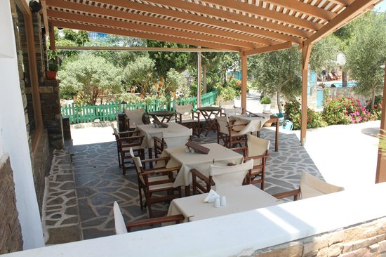 Agios Prokopios Hotel: Dining area