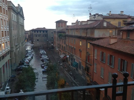 Art Hotel Novecento: The view from the room