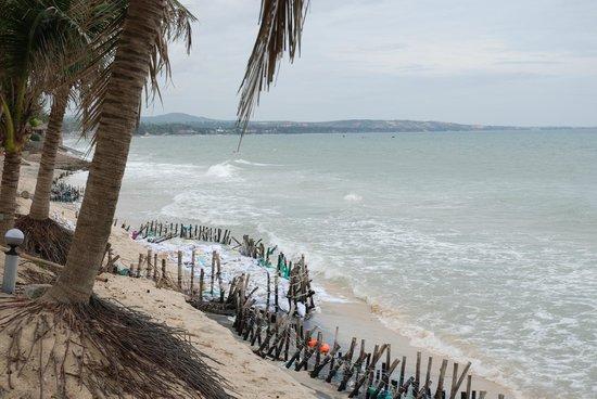 Hiep Hoa Resort : Strand Richtung Mui Ne