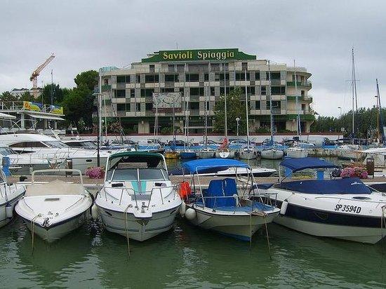 Hotel Savioli Spiaggia Riccione Italien Hotell