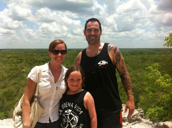 La Selva Mariposa: From the top of Coba