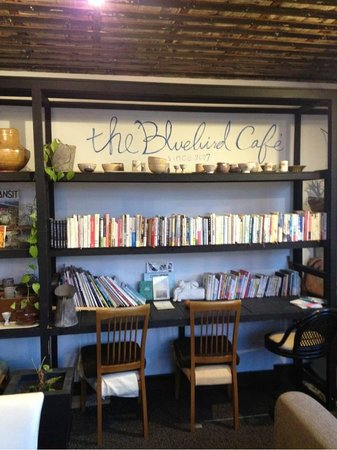 The Bluebird Cafe: Books!