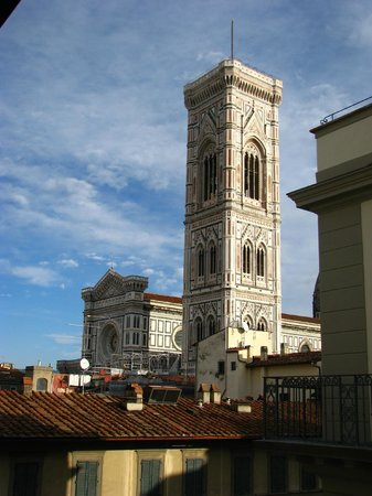 Hotel Savoy: The Duomo from my room