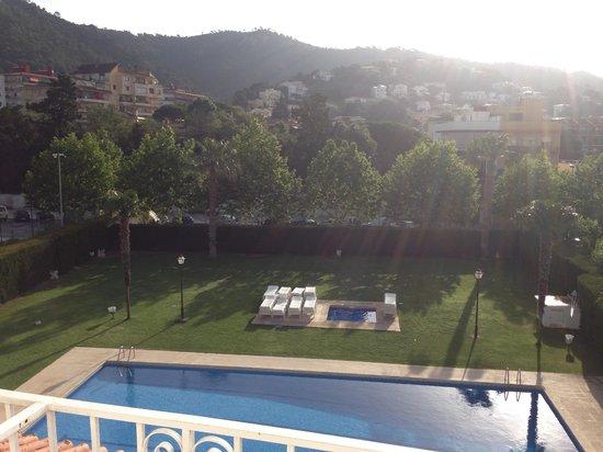 Hotel Marina Tossa : View from balcony