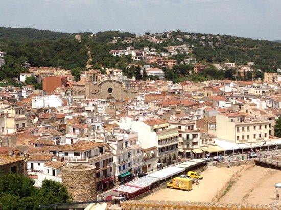 Hotel Marina Tossa: Tossa's old town