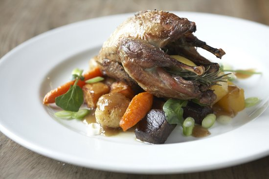 The Pheasant: Roast Partridge with Garlic & Thyme