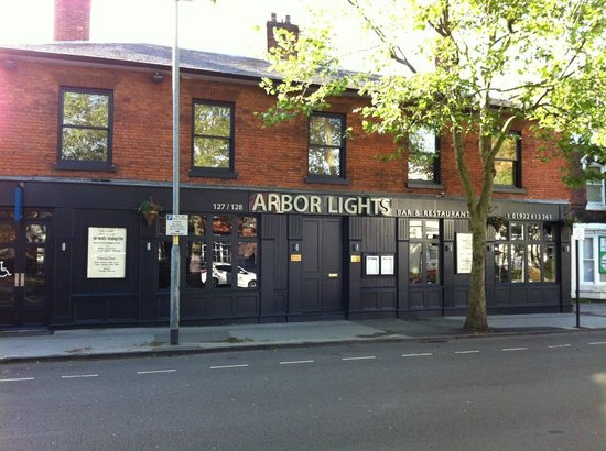 Arbor Lights Walsall Food Menu