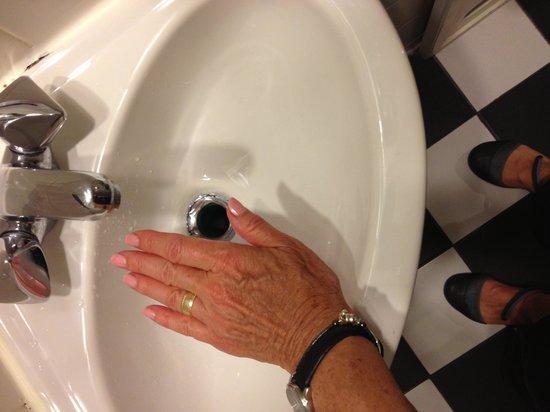 Mayfair Hotel: Tiniest sink