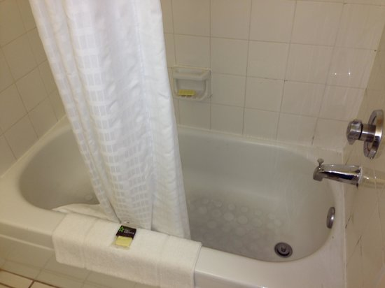 Extended Stay America - Dallas - Coit Road: Check the soap in the soap dish in the tub